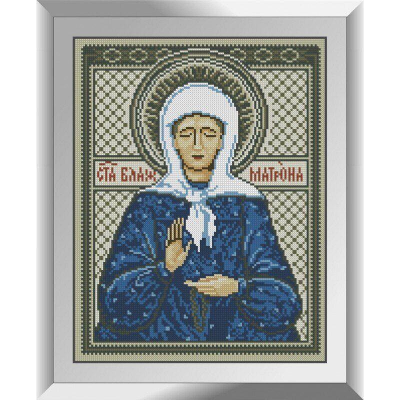 31215 Святая Блаженная Матрона Набор алмазной живописи