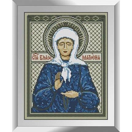 31215 Святая Блаженная Матрона Набор алмазной живописи, фото 2