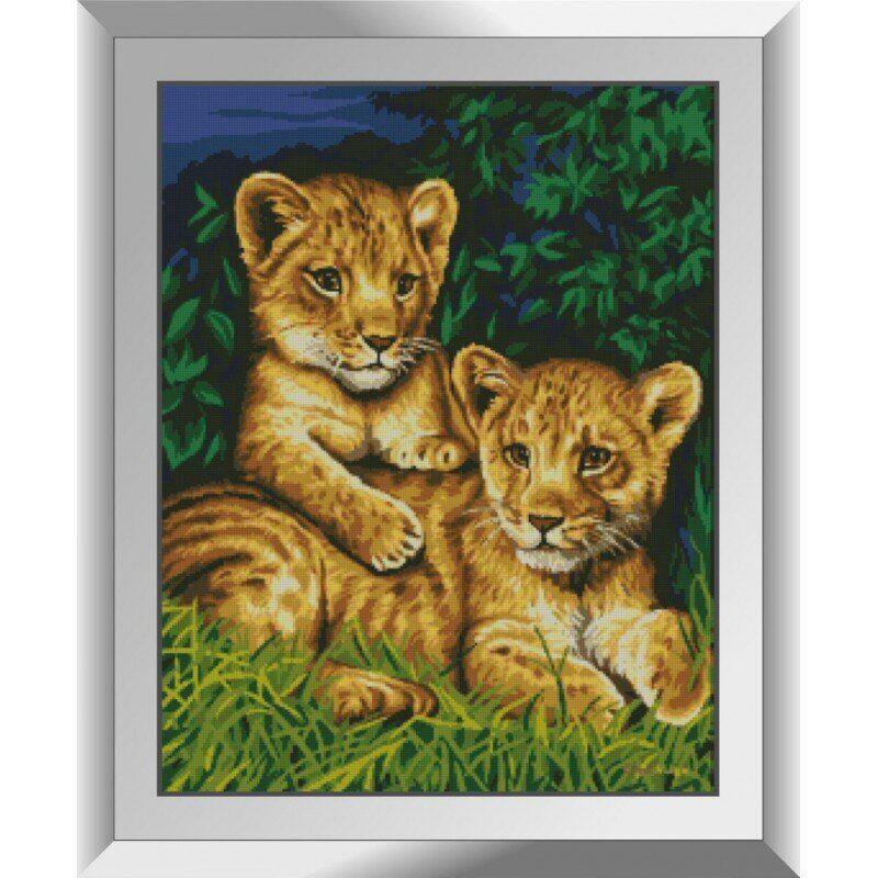 31225 Тигрята Набор алмазной живописи