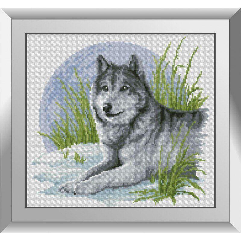 31247 Волчонок Набор алмазной живописи