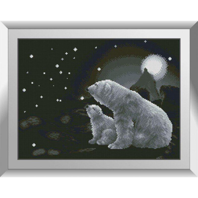 31259 Большая медведица Набор алмазной живописи