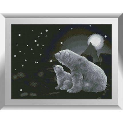 31259 Большая медведица Набор алмазной живописи, фото 2
