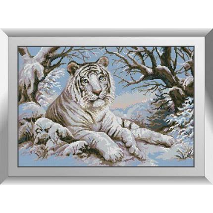 31265 Тигр в снегу Набор алмазной живописи, фото 2