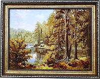 Картина із бурштину Природа (30 x 40 см) BK0007
