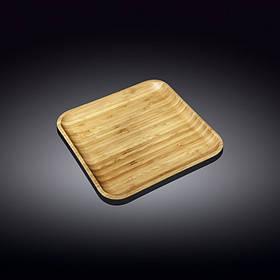 Блюдо Wilmax Bamboo квадратное 24 х 24 см 771024 WL