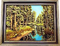 Картина із бурштину Природа (30 x 40 см) BK0008