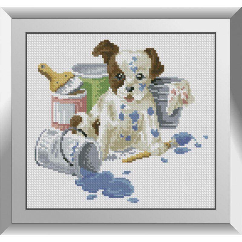 31271 Маленький художник Набор алмазной живописи