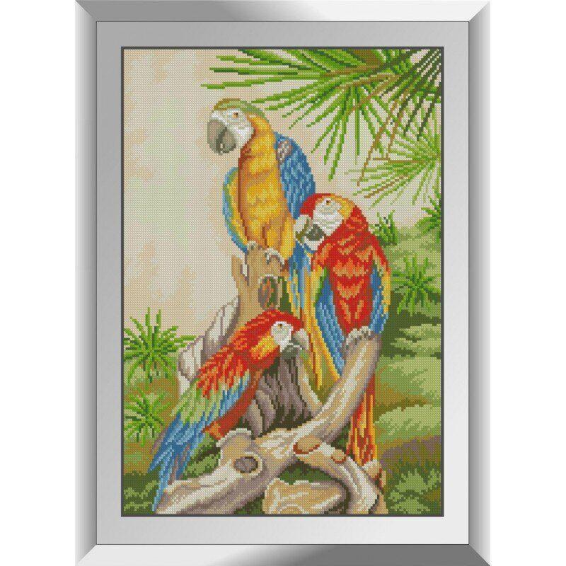 31273 Экзотические птицы Набор алмазной живописи