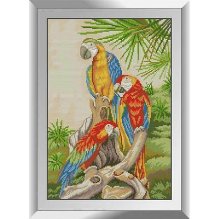 31273 Экзотические птицы Набор алмазной живописи, фото 2