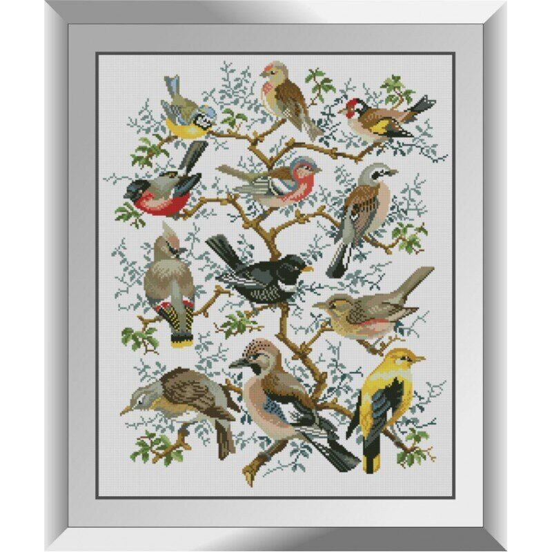 31274 Дерево птиц Набор алмазной живописи
