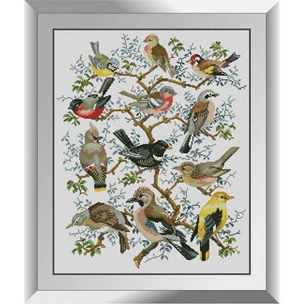 31274 Дерево птиц Набор алмазной живописи, фото 2