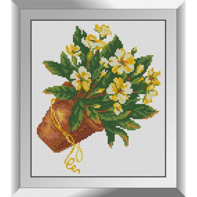 31281 Желтый букетик Набор алмазной живописи