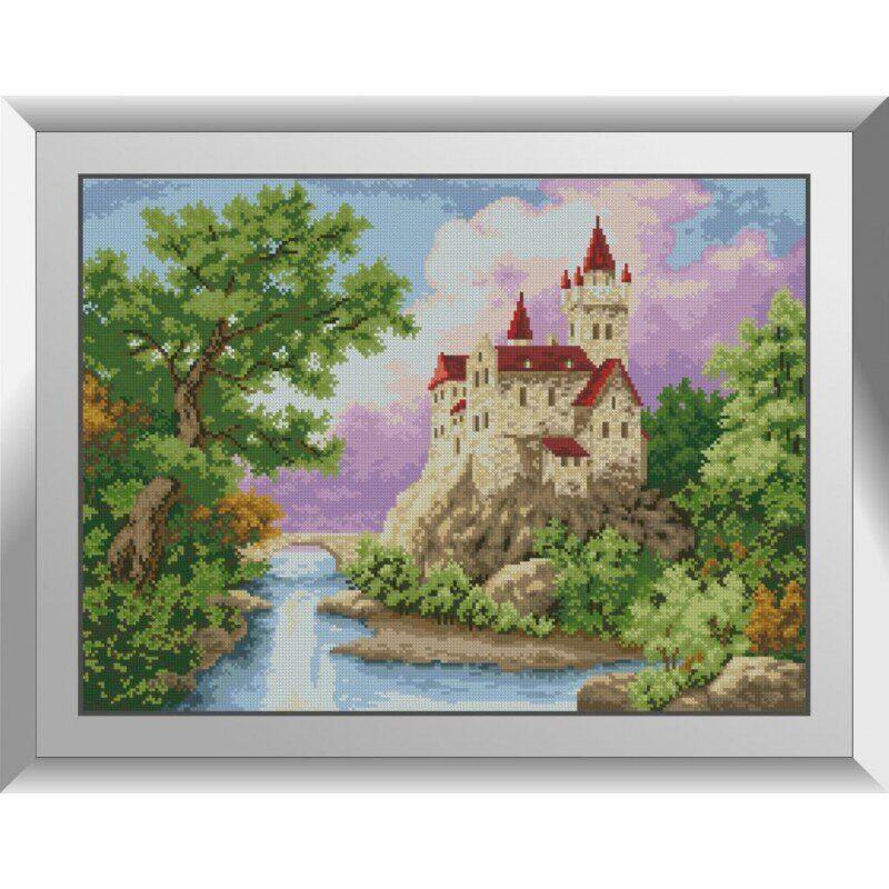 31286 Замок Набор алмазной живописи
