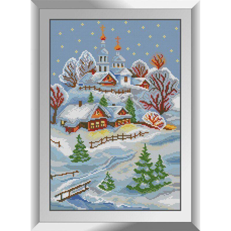 31295 Зима Набор алмазной живописи