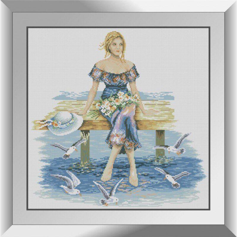31300 На пирсе Набор алмазной живописи