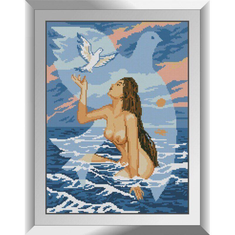 31309 Купальщица Набор алмазной живописи
