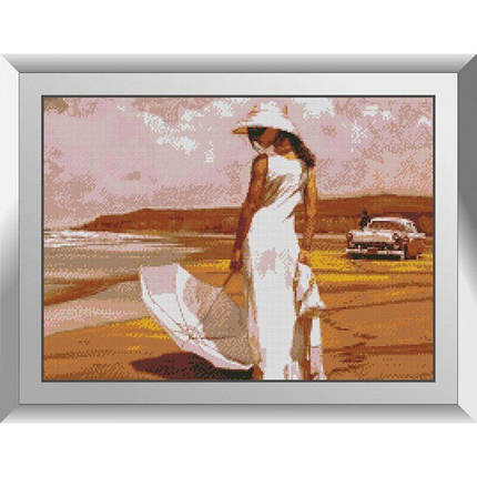 31319 Прогулка у моря Набор алмазной живописи, фото 2