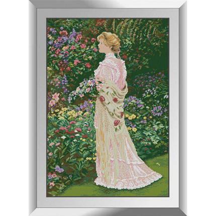 31326 Прогулка в саду Набор алмазной живописи, фото 2
