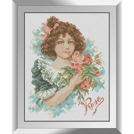 31342 Роза Набор алмазной живописи, фото 2