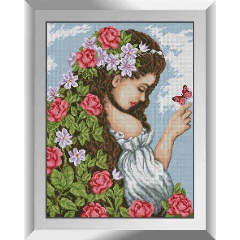 31344 Образ весны Набор алмазной живописи