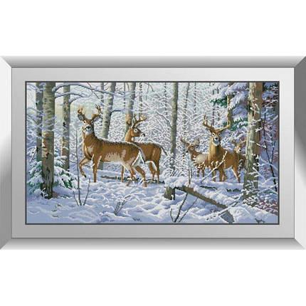 31348 Прекрасная зима Набор алмазной живописи, фото 2