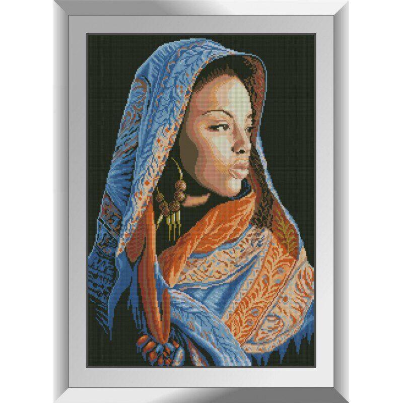 31356 Африканская девушка Набор алмазной живописи