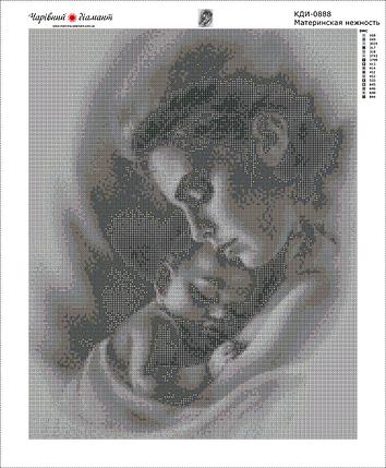 КДИ-0888 Набор алмазной вышивки Материнская нежность, фото 2