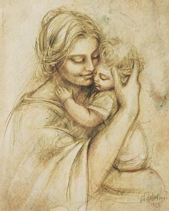КДИ-0890 Набор алмазной вышивки Счастливое материнство, фото 2