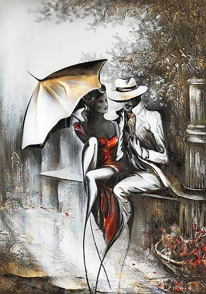 КДИ-0896 Набор алмазной вышивки Романтическое свидание-2