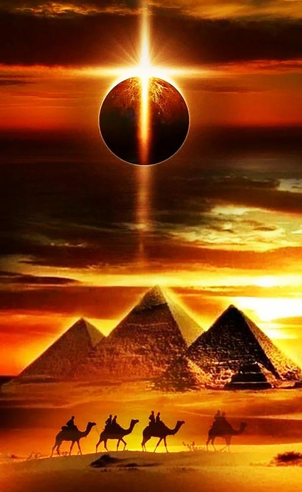 КДИ-0910 Набор алмазной вышивки Тайна пирамид