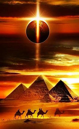КДИ-0910 Набор алмазной вышивки Тайна пирамид, фото 2