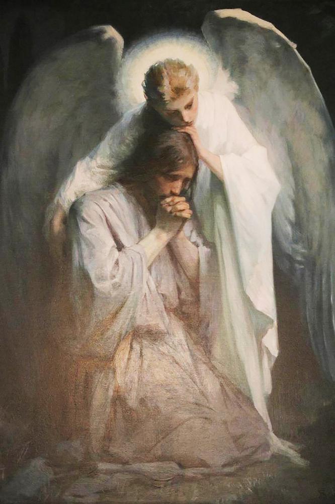 КДИ-0924 Набор алмазной вышивки Иисус и Ангел