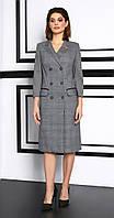 Платье Lissana-3934 белорусский трикотаж, серый, 46