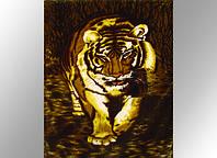 Плед акриловый Бенгальский тигр 323