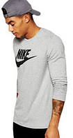 Свитшот реглан Nike (Premium-class) серый