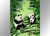Плед акриловый Панды