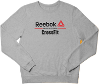 Свитшот реглан Reebok CrossFit (Premium-class) серый