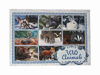 Почтовая открытка Дикие животные (Патриотические открытки)