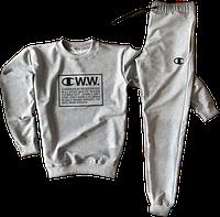 Трикотажный костюм Champion (Чемпион) серый