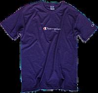 Мужская футболка Champion (ориг.бирка и качество) фиолетовая