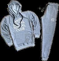 Трикотажный спортивный костюм Anti Social Social Club (premium-class) серый