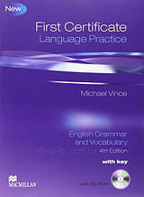 First Certificate Language Practice Student Book with key and CD-ROM / Книга