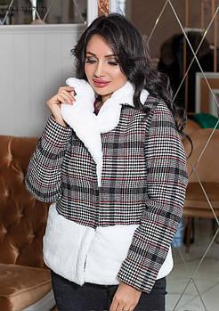 / Размер 42,44,46,48 / Женская короткая куртка из кашемира
