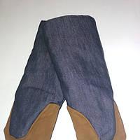 Пекарские рукавицы перчатки джинс