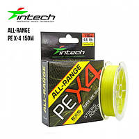 Шнур плетеный Intech All-Range PE X-4 #0.6 (10lb / 4.54kg)