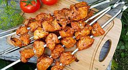 Маринад для куриного шашлыка с соевым соусом и медом