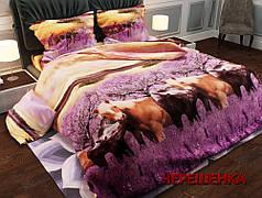 Полуторный набор постельного белья 150*220 из Ранфорса №186489AB Черешенка™