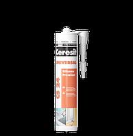 Герметик силиконовый Ceresit CSUWH2 универсальный 280 мл белый