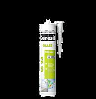 Герметик силиконовый для стекла Ceresit CS 23 (Церезит ЦС 23)  280 мл прозрачный