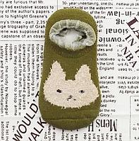 Носки следы махровые 14-16 см